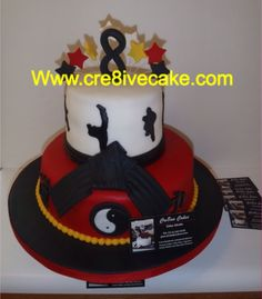 Karate cake by cre8ive cake and candy