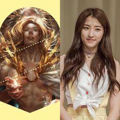 NorseCabins&KPOP // Baldur // Eunseo of cosmic girls WJSN