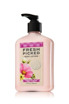 Fresh Picked First Blooms Body Lotion - Anti-Bacterial - Bath & Body Works