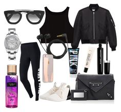 """Sport"" by cerenguezel ❤ liked on Polyvore featuring NIKE, adidas Originals, Yves Saint Laurent, Balenciaga, Prada, Sennheiser, C.O. Bigelow, Rolex and Marc Jacobs"