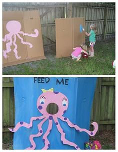 lizard & ladybug: a very creative 'under the sea' birthday party
