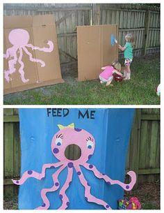 lizard & ladybug: a very creative 'under the sea' birthday party