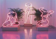 Neon nudes by UK artist Romily Alice Walden