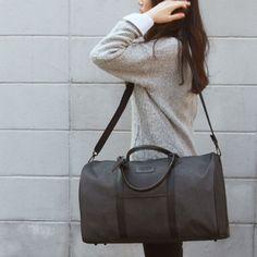 Denim Duffle Bag Womens Travel Bag for Men WC 419  (4)