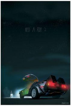 Nedd a ride ?  Back to the future ...