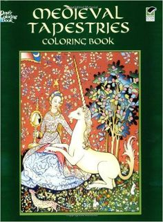 Medieval Tapestries Coloring Book (Dover Fashion Coloring Book): Marty Noble: 9780486436869: Amazon.com: Books