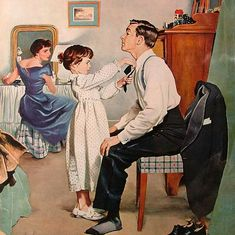 Rockwell, daddy's bow tie, George Hughes by oldcarguy41, via Flickr