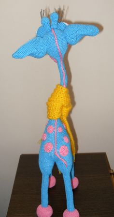 "Project by Denis Stupnikov. Giraffe ""George"" Amigurumi crochet pattern by Galina Astashova for LittleOwlsHut#LittleOwlsHut, #Amigurumi, #Astashova, #CrochetPattern, #Giraffe, #DIY, #Pattern, #Toy"