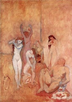 Le Harem: 1906 by Pablo Picasso (Cleveland Museum of Art, Cleveland, Ohio)