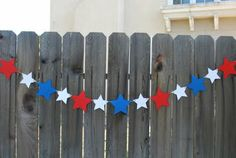 Patriotic Paper Chain  - Great 4th of July decoration