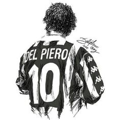 The Stalwart - Alessandro Del Piero Football Drills, Best Football Players, Sports Basketball, Sports Art, Soccer Players, Football Soccer, Juventus Soccer, Juventus Players, Juventus Fc