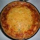 Bacon and green chili quiche. I'm gonna make this soon!