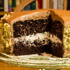 Heavenly Chocolate Layered Cake