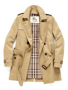 Burberry Trench - I dream of the day I can actually afford one of these.