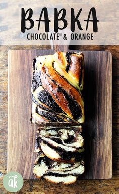 Orange-Chocolate Babka! This babka bread recipe calls for using my favorite challah dough recipe with a chocolate orange filling made. The bread gets rolled and coiled and cut and twisted and it's so much fun to make . ALSO: it's so pretty and so good ... everyone raves! #babka #bread #chocolate #orange #breakfast