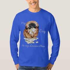 My Pekingese Ate My Lesson Plan T-Shirt   pig lover gifts, gifts for group of friends, tea cup pugs #pugcollections #pugpillow #Rescue