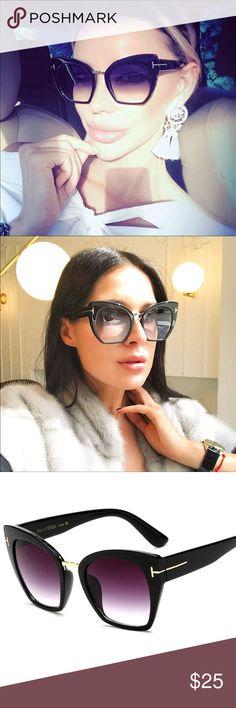 Maria- Black Cat Eye Chic Sunglasses New!  Black Cat Eye Chic Sunglasses  Does not include case  Bundle to save 💕☺️  Follow & Tag:  Ig: shopbellavictoria Fb: Bella Victoria BellaVictotiaBoutique Accessories Sunglasses
