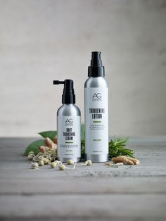 Introducing our two new hair treatments – Root Thikkening Serum and Thikkening Lotion.