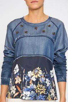 jeans blouse Sportalm