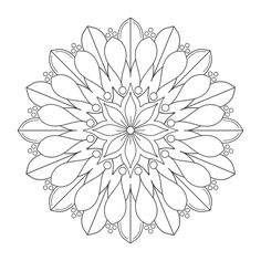 Free printable mandala coloring pages | Ideas for the Kids ...