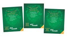 Cliente: Franzoi    Material: Cartão de Natal (espanhol, portugues, inglês)    Agência: BAG propaganda