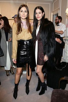 Blumarine Boutique Opening Party in Paris #pfw • Giorgia Tordini and Gilda…