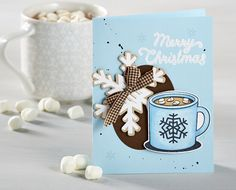Merry Christmas by Kathy Martin for Journey Blooms using Fun Stampers Journey supplies.