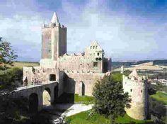 bad kösen, rudelsburg castle