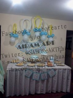 Buffet para Baby Shower