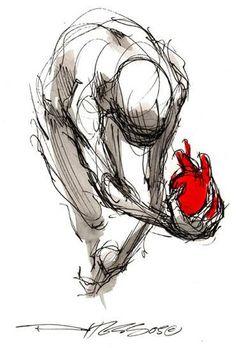 derek hess ... because it is my heart