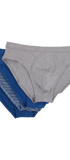 Jockey Cotton Stretch Low Rise Bikini (Grey/Blue Assort) Men's Underwear - Jockey, Cotton Stretch Low Rise Bikini, 8482-001, Apparel Bottom Underwear, Underwear, Bottom, Apparel, Clothes Clothing, Gift, - Fashion Ideas To Inspire