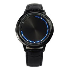 Really cool touch screen LED Binary watch for men..