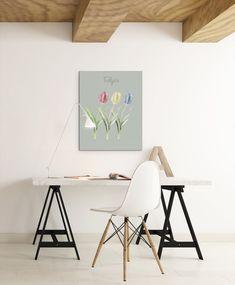 Flowers, Tulips Art Poster, Digital Art Print, Printable Art, Instant Download, Digital Download, Digital Prints, Printable Wall Art Digital Wall, Digital Prints, Handmade Art, Wall Prints, Printable Wall Art, Etsy Seller, Creative, Group Boards, Work Spaces