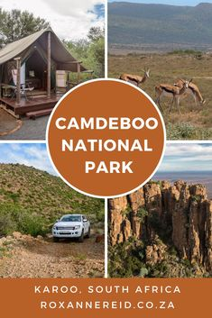 Famous for the Valley of Desolation, Camdeboo National Park surrounds the Karoo town of Graaff-Reinet. Here's the ultimate guide. Morocco Travel, Africa Travel, Places To Travel, Places To Visit, African Holidays, Travel Inspiration, Travel Ideas, Travel Tips, Wildlife Safari