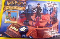 HARRY POTTER LEVITATING CHALLENGE BY MATTEL UNOPENED! (2001) #Mattel