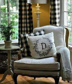 Landleben, Kleine Wohnzimmer, Französisches Landwohnzimmer, Familienzimmer, Deko  Ideen, Französisches Häuschen, Wohnzimmer Stühle, Haus Und Garten, ...