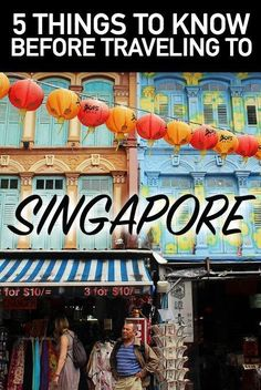 Traveling to Singapore? Here are five useful travel tips to make your trip go smoothly!