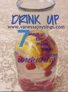7 ways to make your water taste better