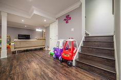 New Finished Basement by Guy Solomon Team