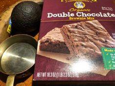 Avocado Banana Chocolate Brownies | ThriftyFun #chocolateavacado Banana Brownies, Mini Brownies, Double Chocolate Brownies, Avocado Brownies, Chocolate Avacado, Healthy Baking, Healthy Food, Delicious Desserts, Sweet Treats