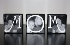 """MOM"" Photo Blocks"