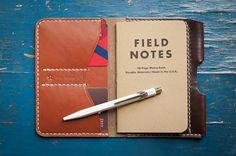 The Park Sloper Senior - wallet & notebook - brown / chestnut