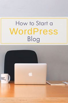 Wordpress is the #1 platform for bloggers and influencers. Here's a simple 4-step instructional for how to start a wordpress blog of your own!