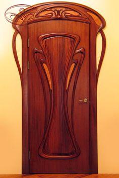 Jury Moshans' Art Nouveau Door