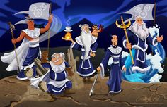 Avatar Disney Princesses and characters