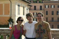 Tasha and mom in Rome
