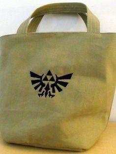 Legend of Zelda Tote Bag by AccidentalFancies on Etsy, $30.00