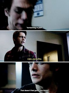 """""""Riders on the Storm"""" Liam and Stiles Teen Wolf Time, Teen Wolf Funny, Teen Wolf Dylan, Teen Wolf Cast, Dylan O'brien, Stydia, Sterek, Best Tv Shows, Favorite Tv Shows"""