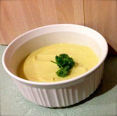 Dairy-Free Bechamel Sauce (AKA Cauliflower & Leek Soup!) in the Thermomix