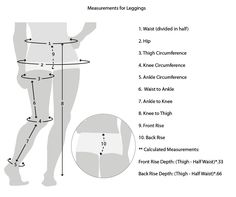 Making Leggings- One Little Minute Blog - Measurements-10